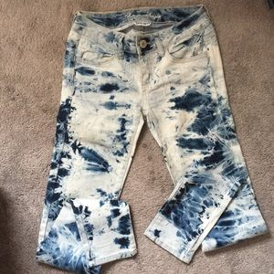 American Eagle jean Jagging's size 0